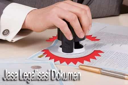 Jasa Legalisasi Dokumen