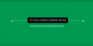 Daftar KlienCV Solusindo Karya Nusa